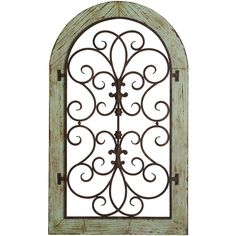 Pier One Verdigris Arch Wall Decor ($100) ❤ liked on Polyvore