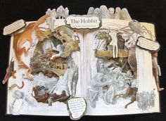 The Hobbit Book Art.