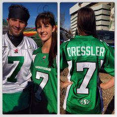 Weston Dressler #7 Saskatchewan Roughriders Go Rider, Saskatchewan Roughriders, Saskatchewan Canada, Football Team, Letting Go, Pride, Feels, Football Squads, Lets Go