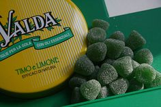 Les pastilles Valda
