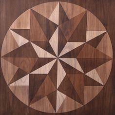 Faux marquetry with Stain and Seal American Walnut