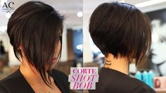 COMO FAZER CORTE SHORT BOB (video) Like his sectioning for the top