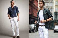 Como usar camisa jeans masculina: 6 combinações infalíveis - El Hombre