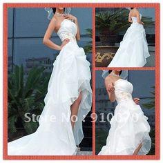 Google Image Result for http://i01.i.aliimg.com/wsphoto/v0/525978093/Free-Shipping-Strapless-White-Organza-Front-Short-and-Long-Back-Wedding-Dress-Hi-lo-2012-Wedding.jpg