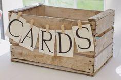 Décoration pour un mariage champêtre : l'urne de mariage