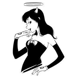 Alice ángel realistic