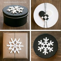 Pärlat pynt till klapparna - Pyssel & pysseltips - Make & Create