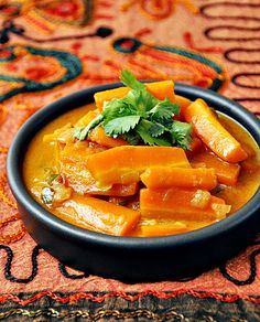 spicy carrot coconut curry a1