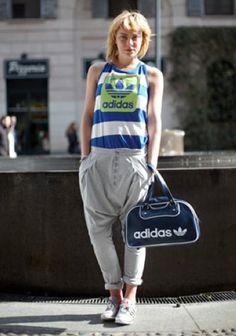 Siz Adidas'ınızı nasıl giyiyorsunuz? / How do you wear your Adidas?