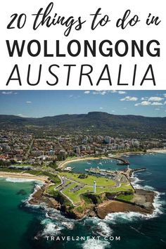 20 things to do in Wollongong. The region around Wollongong is stunning from the sky. Melbourne, Sydney, Brisbane, Australia Travel Guide, Visit Australia, Australia Trip, South Australia, Wollongong Australia, Scuba Diving Australia