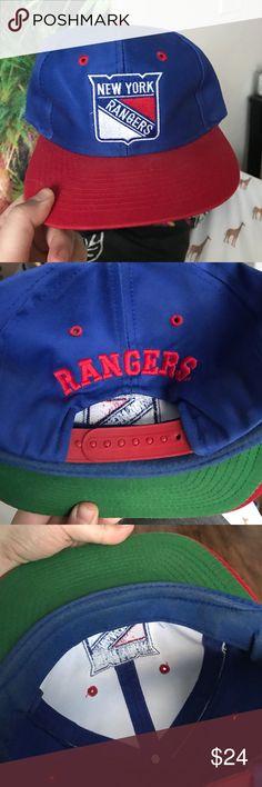 New York Rangers SnapBack Vintage Vintage Accessories Hats