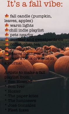 A little bit of everything Fall Playlist, Autumn Inspiration, Autumn Ideas, Autumn Aesthetic, Little Bit, Fall Candles, Seasons Of The Year, Happy Fall Y'all, Fall Halloween