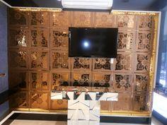 A088-Bronze Mirror Tiles, Mirror Art, Photo Wall, Bronze, Frame, Home Decor, Picture Frame, Photograph, Decoration Home