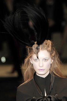 A is for Alexander McQueen: Paris Fall 2006. - detail