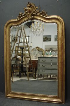Antique French Mirror from www.jasperjacks.com
