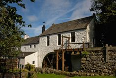 New Abbey Corn Mill has been carefully restored and is operated regularly in the summer months to demonstrate to visitors how oatmeal is produced. Homecoming 2014, Scotland Travel, Summer Months, Days Out, Building A House, Restoration, Places To Visit, Cabin, Mansions