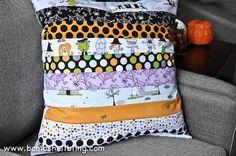 DIY Halloween Crafts : DIY Too Cute to Spook Halloween Pillow