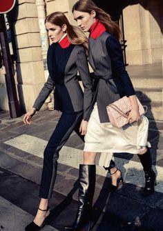 Manuela Frey, Alisa Ahmann by Claudia Knoepfel & Stefan Indlekofer for Dior Magazine #6