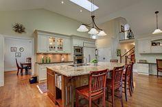 Open concept gourmet kitchen | 182 Trelawn Avenue, Oakville