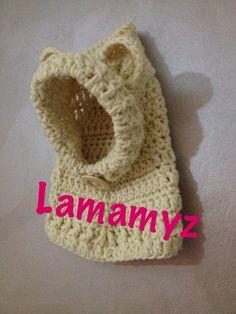 Cappucciolo Hoody Cowl Little Bear by Lamamyz