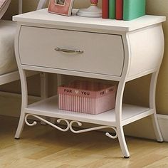 Coaster Home Furnishings Nightstand, White