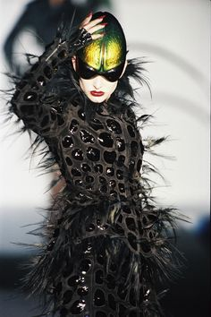 Thierry Mugler Haute Couture - Spring/Summer 1997. Gratefully repinned by RokStarroad.com