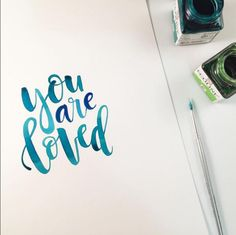 You are Loved - Liss Letters
