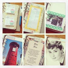 My first filofax decorating