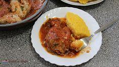 Ostropel de pui. Cea mai simpla mancare de pui cu sos de rosii. Creme Caramel, How To Cook Chicken, Mashed Potatoes, Cooking, Ethnic Recipes, Food, Youtube, Honey, Whipped Potatoes