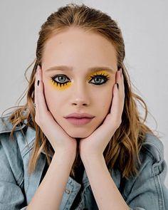 63 Ideas for photography portrait creative makeup Makeup Goals, Makeup Inspo, Makeup Art, Makeup Inspiration, Beauty Makeup, Hair Makeup, Rock Makeup, Makeup Eyes, Maquillage Halloween