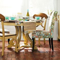 Angela Deluxe Dining Chair - Blue Meadow