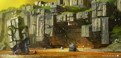 Destiny: Venus Exploration, Dorje Bellbrook on ArtStation at http://www.artstation.com/artwork/destiny-venus-exploration