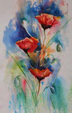 Brusho paint: Judith Farnworth
