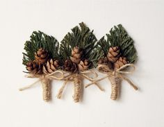 Woodland boutonniere Woodland whimsy buttonhole for by Lietofiore, $12.00