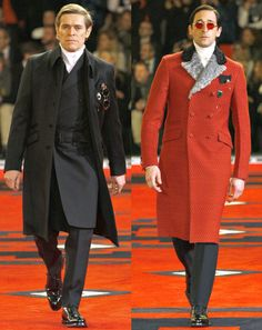 Prada      Adrien Brody and William Dafoe looks: Need I say more?  —Ted Stafford, GQ European market editor