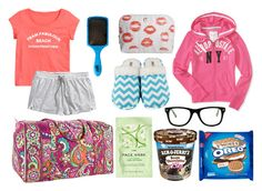 """""""Sleepover set #1"""" by donna113300 ❤ liked on Polyvore"""