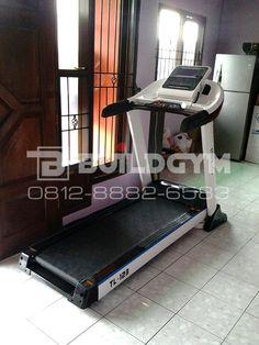 Treadmill Electric 3.0HP TL123 White