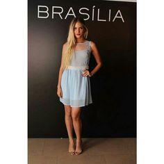 Pérolas! Vestidos azul de pérolas- ❤ Página: Vestidos Tam: P e M ✅ R$ 499,00  Compre pela loja virtual ou whats www.loucacomomequeres.com.br 61 - 8264-6852  #uselouca #loucacomomequeres #LCMQ #compreagora  #perolas  #dress #moda #fashion  #fashiondesigner #brasilia #brasiliandesigner #streetstyle #style