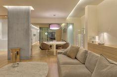 APARTMENT IN P.FALIRO Bathroom Lighting, Architecture Design, House Design, Mirror, Furniture, Home Decor, Bathroom Light Fittings, Bathroom Vanity Lighting, Architecture Layout