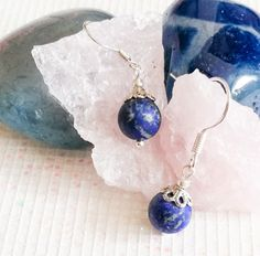 Lapis Lazuli, Handmade Jewelry, Pendant Necklace, Blue, Fashion, Moda, Handmade Jewellery, Fashion Styles, Jewellery Making