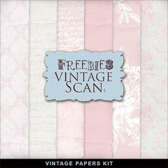 Far Far Hill: Freebies Romantic Papers Kit