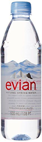 evian Natural Spring Water 500 ml, 24 Count -- Click here for more details @ http://www.amazon.com/gp/product/B00FX6NXNC/?tag=healthstor05-20&pab=260716105055