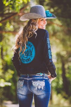 Sparkle KCD Rodeo Shirt sold by Kicking Cowgirl Designs. Shop more products from Kicking Cowgirl Designs on Storenvy, the home of independent small businesses all over the world. Cute Country Girl, Cute Country Outfits, Country Women, Country Farm, Sexy Cowgirl Outfits, Equestrian Outfits, Sexy Outfits, Cute Outfits, Fall Winter Outfits