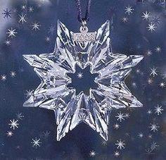 Swarovski Christmas Ornament - 2003