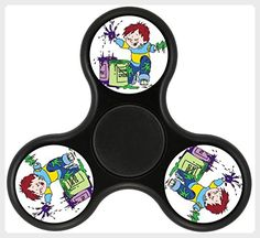 TG Horrid Henry Fidget Spinner, Fashion Design and Images Tri-Hands Toy