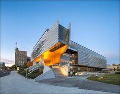 Кампус Корнелльского университета от студии Morphosis Architects