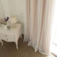 Tulle Blackout Grommet Curtain Panel