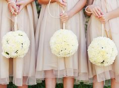 add some pink and these are perfect for flowergirls