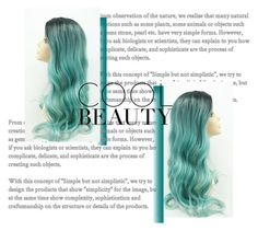 """""""Untitled #160"""" by varshak1923 ❤ liked on Polyvore featuring beauty, hairtrend and rainbowhair"""