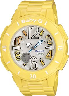 Bold, bright Baby-G watches you'll absolutely love wearing this summer.
